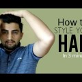 How-To-Style-Your-Hair-Within-3-Minutes-Hairstyle-for-Men-demo-Nitesh-Hansa