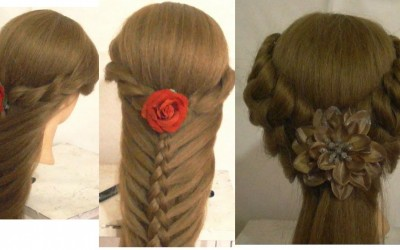 Lace-Braided-Hairstyles-For-Long-Hair-Side-French-Braid-Bun-Updo-Hair-Tutorial