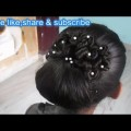 Letest-Easy-Bun-new-year-Hairstyle-2017Wedding-hairstyle-for-long-hair-prom-braided-hairstyle