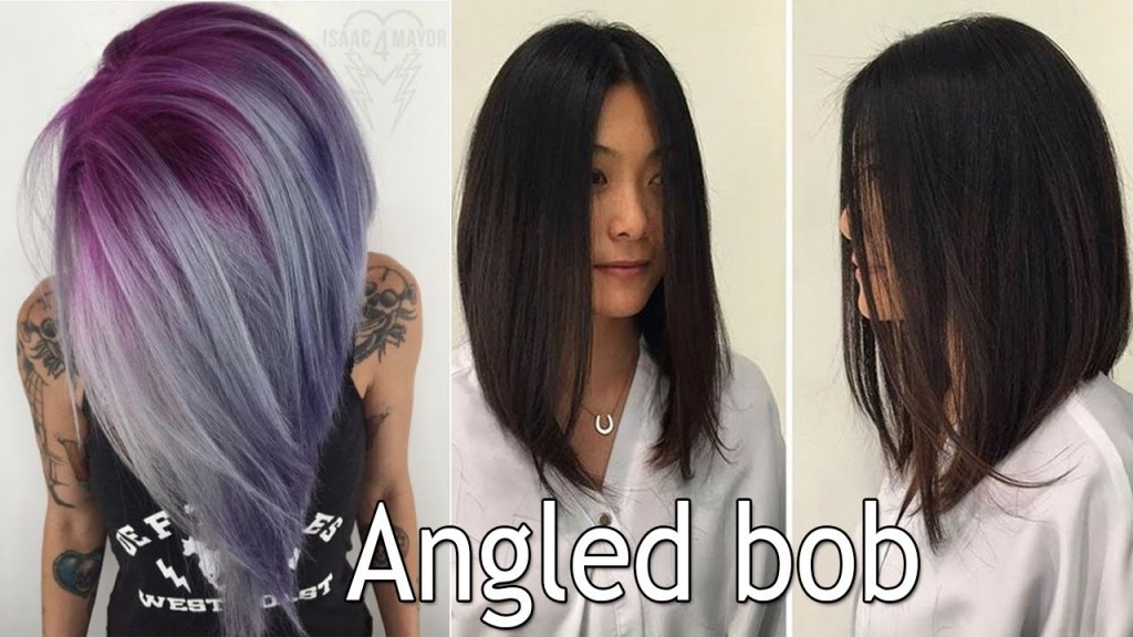 Long Angled Bob Haircut Long Bob Haircuts For Women I Angled