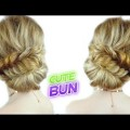 PROM-HAIRSTYLE-FOR-MEDIUM-OR-LONG-HAIR-CUTE-AND-EASY-BUN-WITH-A-BRAID-Awesome-Hairstyles-