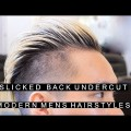 Slicked-Back-Undercut-Popular-Modern-Mens-Hairstyles-2017