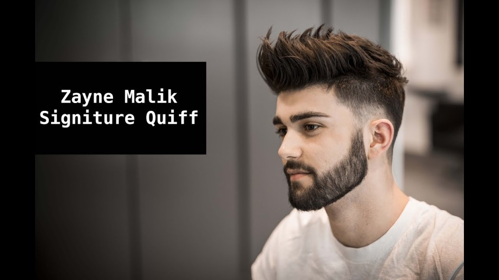 Zayn Malik Signature Hair Tutorial | Mens Summer Hairstyle ...