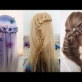10-Easy-Hairstyles-For-Long-Hair-Hairstyles-Tutorials-Compilation-2017