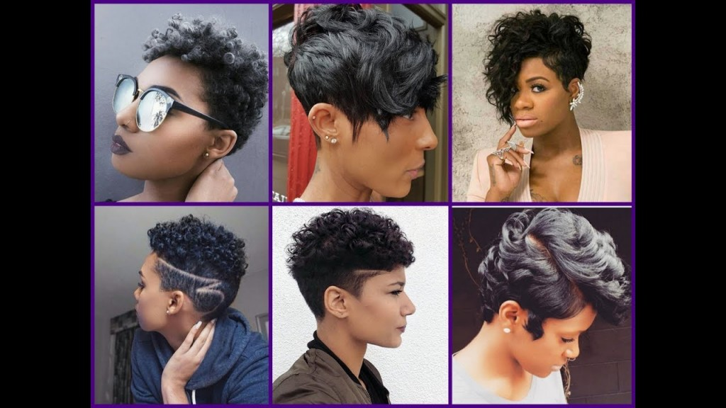 25 New Short Haircuts For Black Women 2017 Trendy Haircuts For