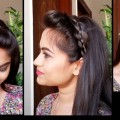 3-Heatless-HAIRSTYLES-for-Christmas-and-NEW-YEAR-4-strand-braid-indian-hairstyles-for-long-hair
