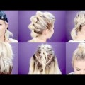 7-EASY-GYMWORKOUT-SHORT-HAIRSTYLES-TUTORIAL-Milabu-1