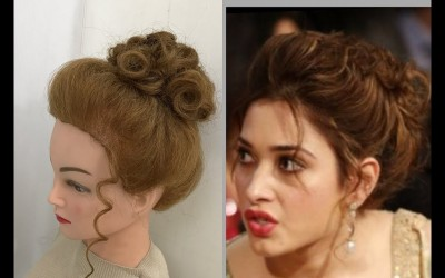 Beautiful-Hairstyles-with-puff-Easy-Party-Hairstyles