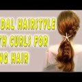 Bridal-Hairstyle-With-curls-for-long-hair-Tutorial-1