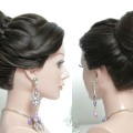 Bridal-hairstyle-for-long-hair-tutorial.-Wedding-prom-updo-step-by-step