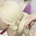 Bridal-hairstyle-for-long-medium-hair-tutorial-Wedding-updo