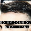 Cool-Hairstyle-for-Men-Medium-Comb-Over-with-Short-Fade-Hair-Summer-Haircut