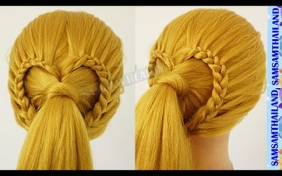 Easy-Hairstyles-For-Short-And-Long-Hair-SAMSAM-BEAUTY