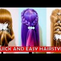 Easy-Quick-Everyday-Hairstyles-for-long-hair-hairstyles-for-medium-hair