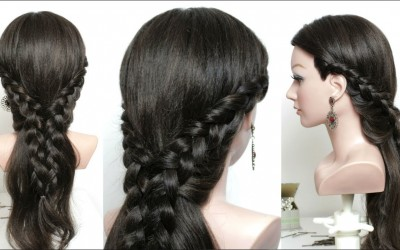 Easy-and-cute-hairstyle-for-long-hair-tutorial