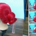 Easy-bun-tuto-Hair-styling-simple-and-fast-long-hair-for-work-college
