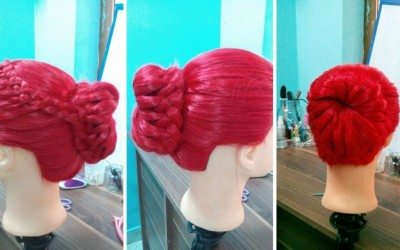 Easy-woven-bun-tuto-Simple-long-hairstyle-hair-for-every-day-for-holidays