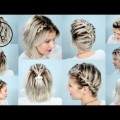 Hair-Styles-2017-10-EASY-BRAIDS-FOR-SHORT-HAIR-TUTORIAL-Milabu