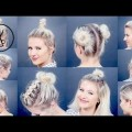 Hair-Styles-2017-10-EASY-Different-Bun-Hairstyles-For-Short-Hair-Milabu