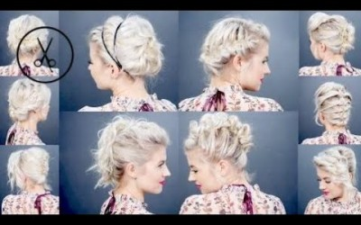 Hair-Styles-2017-10-EASY-UPDO-Tutorials-FOR-SHORT-HAIR-Milabu