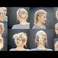 Hair-Styles-2017-10-FAUX-BRAIDED-SHORT-HAIRSTYLES-Tutorial-Milabu
