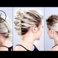 Hair-Styles-2017-3-HEATLESS-Up-Dos-For-Short-Hair-Tutorial-Milabu