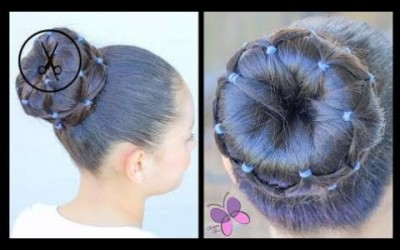 Hair-Styles-2017-Bun-with-Elastics-Hairstyles-for-Girls-Hairstyles-for-long-hair-ChikasChic