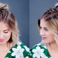 Hairstyle-Of-The-Day-Double-Dutch-Braids-with-Messy-Bun-Milabu