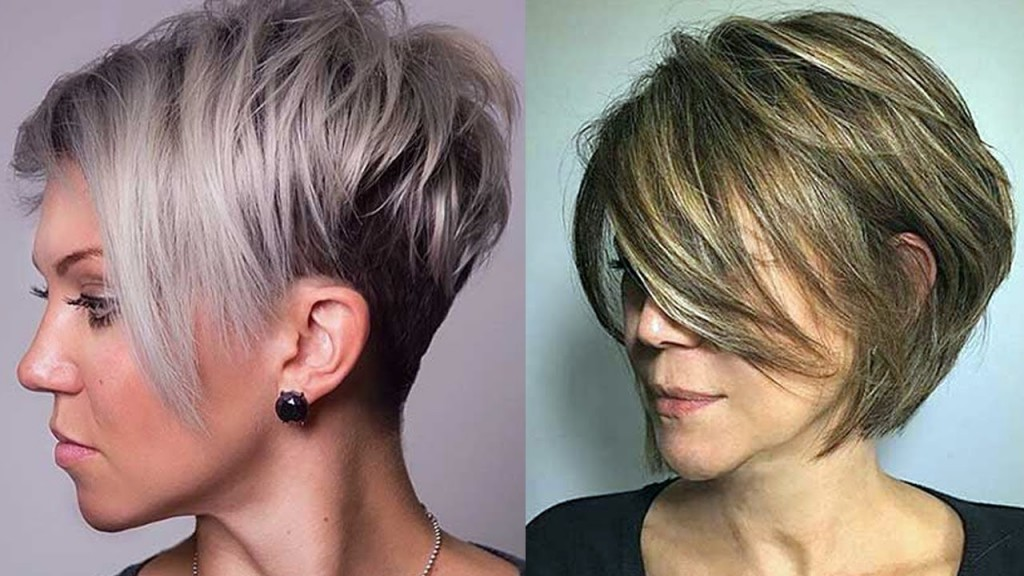 Layered Haircuts for Short Hair 2018 – Short Layered Hairstyles for Women – HairStylesForAll.com