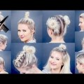 Short-Hair-2017-10-EASY-Different-Bun-Hairstyles-For-Short-Hair-Milabu