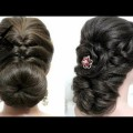 Short-Hair-2017-2-easy-hairstyles-for-long-hair-tutorial.-Prom-updos