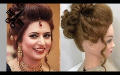 Short-Hair-2017-3-Beautiful-Hairstyles-with-puff-Easy-Wedding-Hairstyles