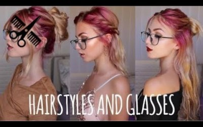 Short-Hair-2017-Easy-Hairstyles-for-People-with-Glasses-Firmoo.com-Stella