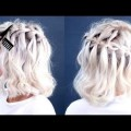 Short-Hair-2017-HOW-TO-Waterfall-Braid-Short-Hair-Tutorial-Milabu