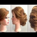 Simple-Easy-Hairstyle-for-Wedding-Bridal-for-long-medium-Hair-Wedding-Bridal-Hairstyle