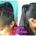 Simple-Ponytail-Hairstyles-Dutch-Braid-Faux-Hawk-Easy-Everyday-Hairstyles-for-long-medium-hair