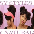 Summer-Style-Lookbook-for-the-Lazy-Natural-8-Hairstyles-mediumlong-hair