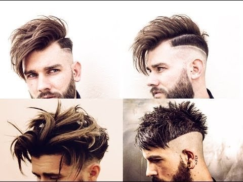 Hairstyles for long hair men 2018