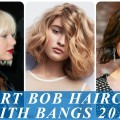 17-charming-short-hairstyles-for-women-with-bangs-2018