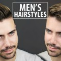2-Quick-and-Easy-Hairstyles-for-Men-Mens-Hairstyle-Tutorial-ALEX-COSTA