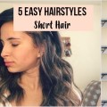 5-EASY-Hairstyles-for-SHORT-Hair