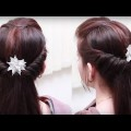 5-Minute-Hairstyles-For-Busy-Mornings-for-long-Hair-YouTube-Ladies-Hair-Style-Videos-2017.-1