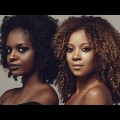 Afro-American-Women-Shoulder-Lenght-Medium-Natural-Black-Curly-Hairstyles
