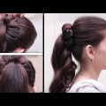 Best-and-Easy-Hair-style-for-medium-or-long-Hair-Step-by-Step-Tutorials-2017