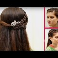 Bridal-hair-style-for-long-medium-hair-tutorial-2017-Hair-style-videos-1