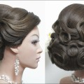 Bridal-hairstyle-for-long-hair-tutorial.-Wedding-updo-step-by-step