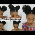 DIYCrochet-3-Cute-Space-Hairstyles-On-Short-Natural-Hair-Back-to-school-hair-style
