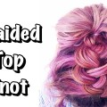 EASY-HAIRSTYLES-FOR-SHORT-HAIR-BUBBLE-BRAID-HALF-UPDO