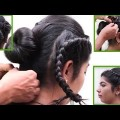 Easy-Party-Bun-Hair-Style-for-Long-Hair-Ladies-Hair-Style-Videos-2017-.