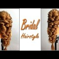 Easy-Simple-Hairstyle-for-Wedding-Bridal-for-long-medium-Hair-Wedding-Bridal-Quick-Hairstyle